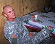 1st BN Christmas Dinner, Iraq, 2005