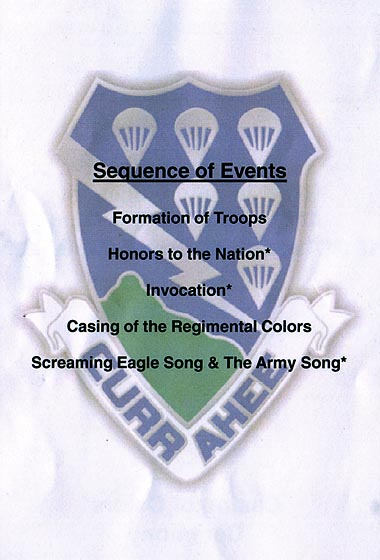 Casing of the colors july 27 2010