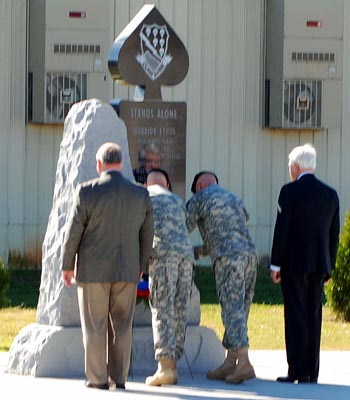 Laying of the 4BCT Wreath