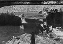 Blown Bridge, Siegsdorf, May 1945
