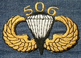 (44) 506 Parachute Badge