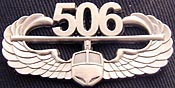 Antique Silver Air Assault Badge