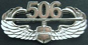 Bright Silver Air Assault Badge
