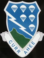 Currahee Shield Outside Decal